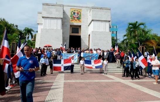 Diversas instituciones rinden homenaje a Matías Ramón Mella