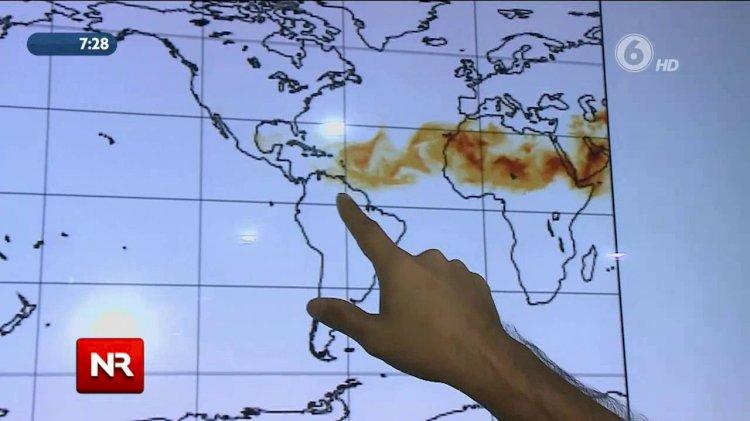 Nube de polvo del Sahara es la más intensa de los últimos 50 años