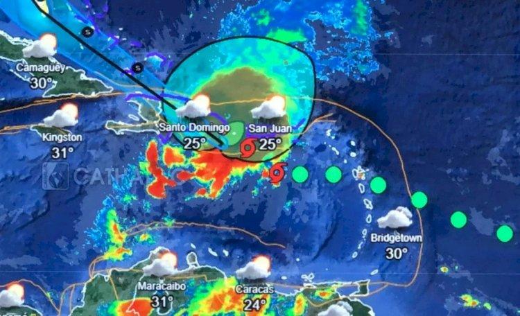 COE eleva a 13 las provincias en alerta roja por la tormenta Isaías