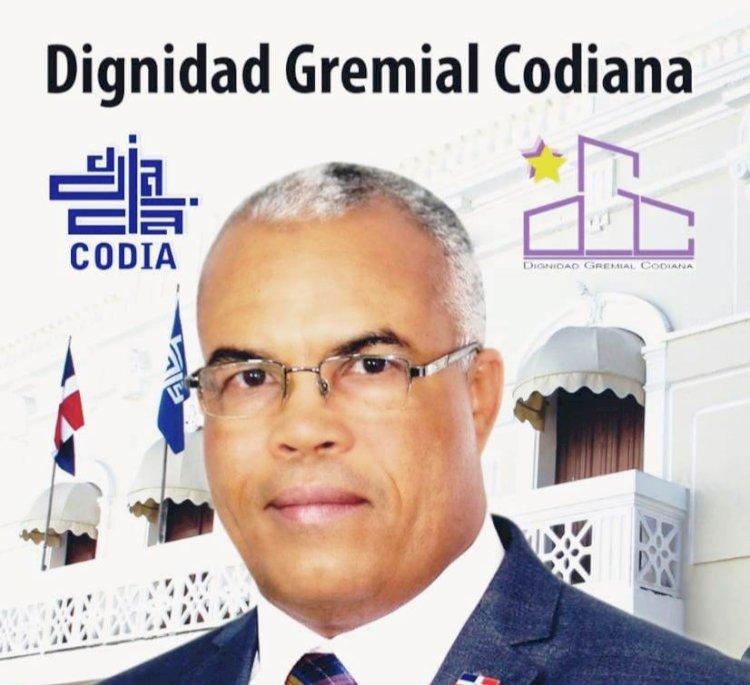 Francisco Marte, electo presidente del CODIA, agradece a sus colegas el respaldo recibido