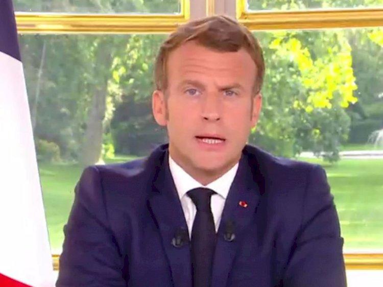 Macron asegura a Abás que la prioridad sigue siendo el derecho internacional