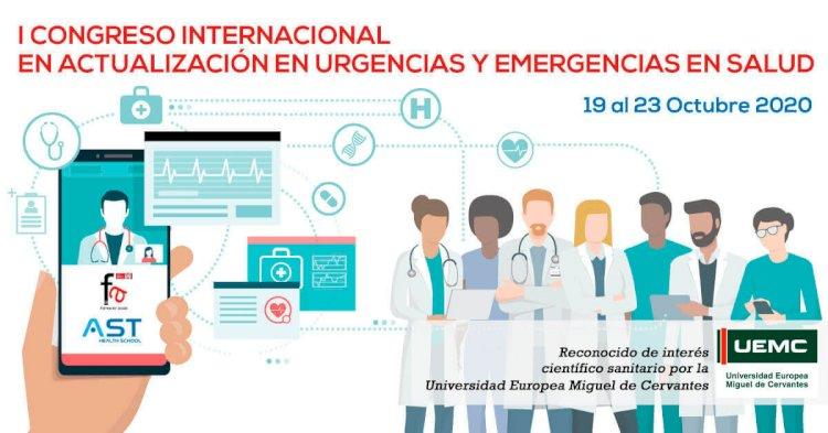 Llega el I Congreso Internacional en actualización en Urgencias y Emergencias en Salud