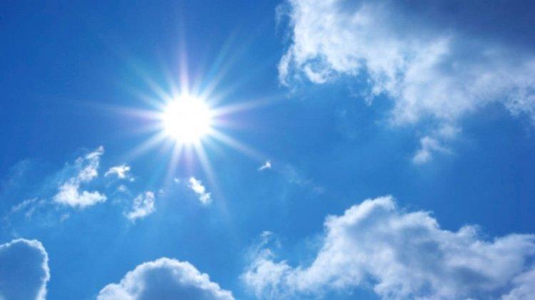 Escasa nubosidad, sol y temperaturas calurosas en gran parte del país este sábado
