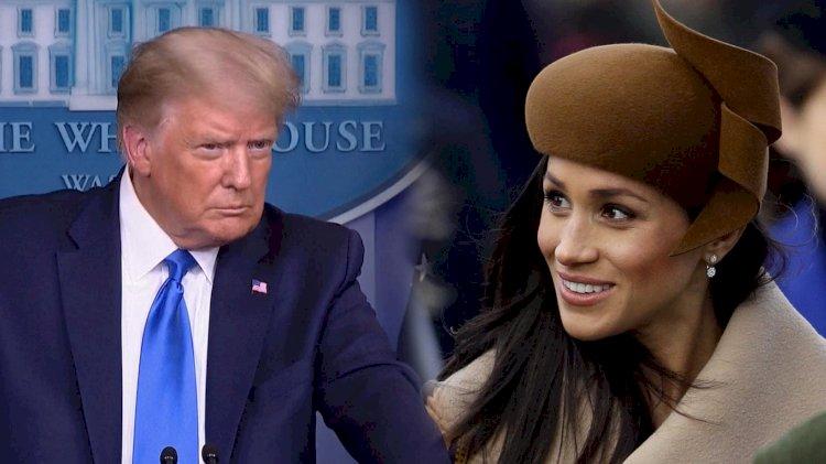 """Trump dice que no es """"muy fan"""" de Meghan Markle"""