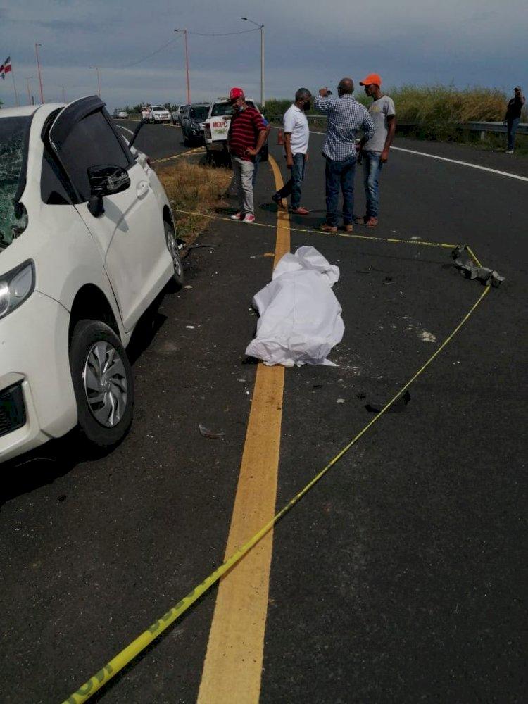 Una joven muerta y varios heridos tras accidente de tránsito en avenida circunvalación