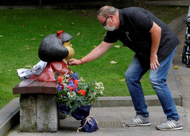 El mundo llora la muerte de Quino, el padre de la entrañable Mafalda