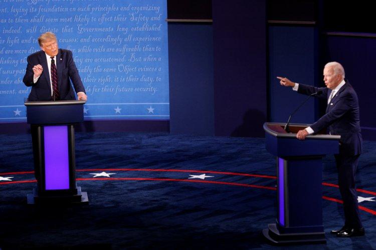 Organización cambiará formato de debates entre Trump y Biden para evitar caos