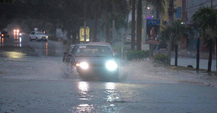 ONAMET pronostica lluvias durante todo el fin de semana