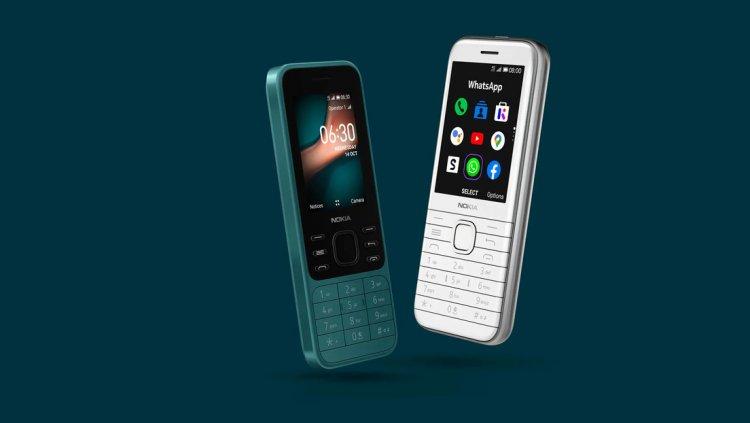 Los legendarios Nokia 6300 y Nokia 8000 'reviven' en versión 4G