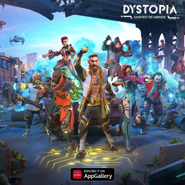 Dystopia: Torneo de héroes se lanza exclusivamente en AppGallery