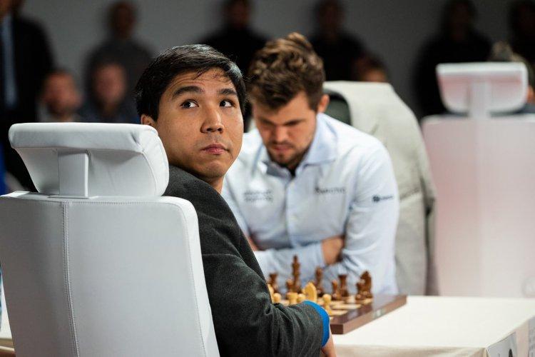 Carlsen y Wesley So, con un pie en la final del Skilling Open de ajedrez por internet