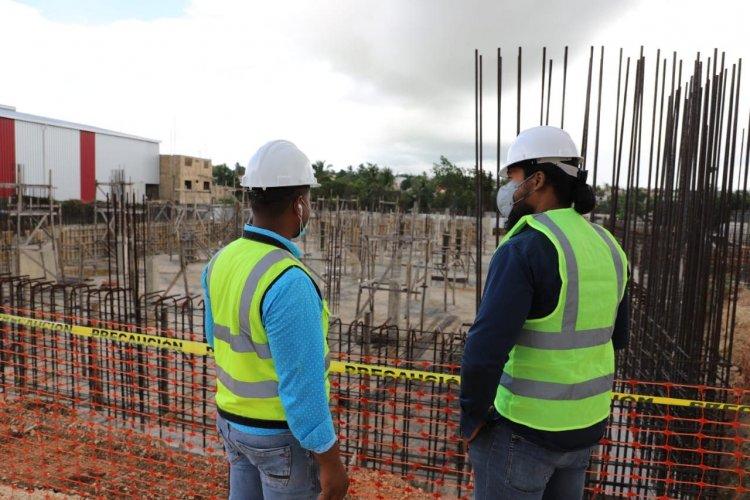 Abinader deja reanudado los trabajos de construcción hospital de Villa Hermosa en La Romana