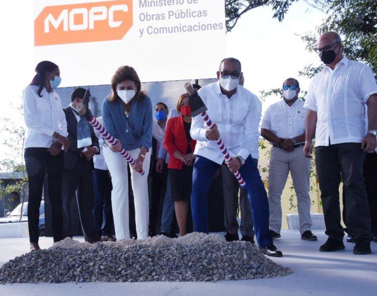 Obras Públicas inicia construcción de su Departamento Regional Yuma a un costo de RD$32 millones