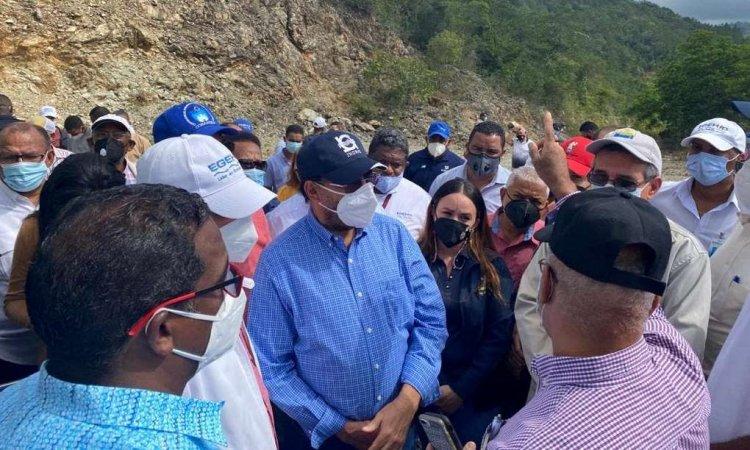 Indrhi y EgeHID buscan viabilizar finalización presa de Guaiguí en La Vega