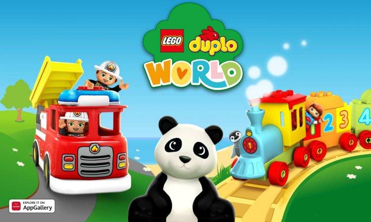 LEGO DUPLO WORLD se une a AppGallery para brindar experiencias icónicas de juego y aprendizaje