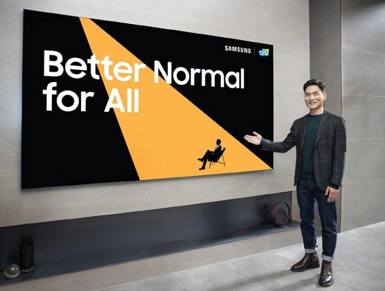 Samsung presenta las últimas innovaciones para una mejor normalidad en CES 2021