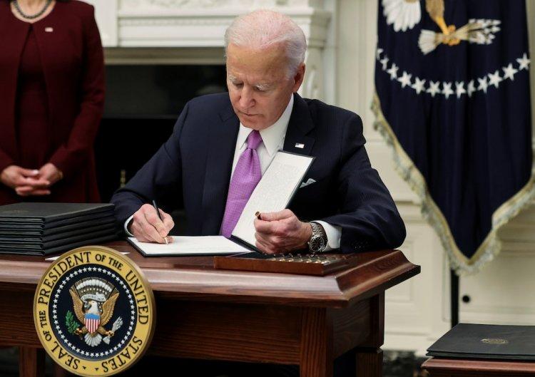 Biden firmará órdenes ejecutivas de alivio económico