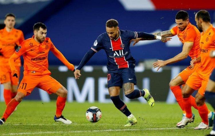 PSG hace valer la pegada de su tripleta mágica ante el Montpellier