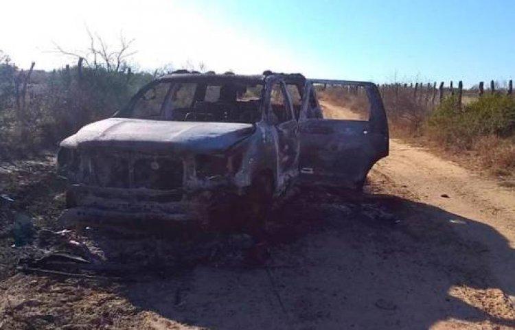 Encuentra 19 cuerpos calcinados cerca de la frontera con los EE.UU.