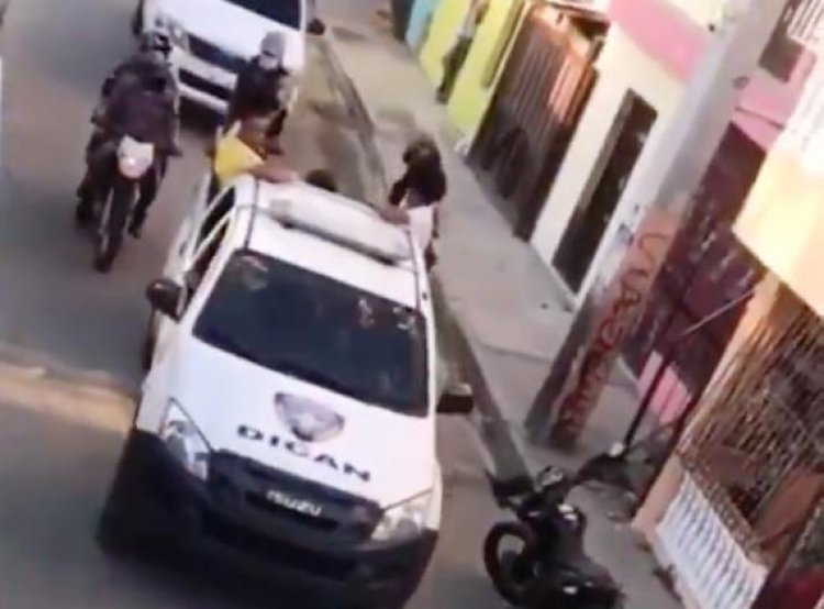 Policía Nacional mantiene intervenido barrio de San Cristóbal tras tiroteo