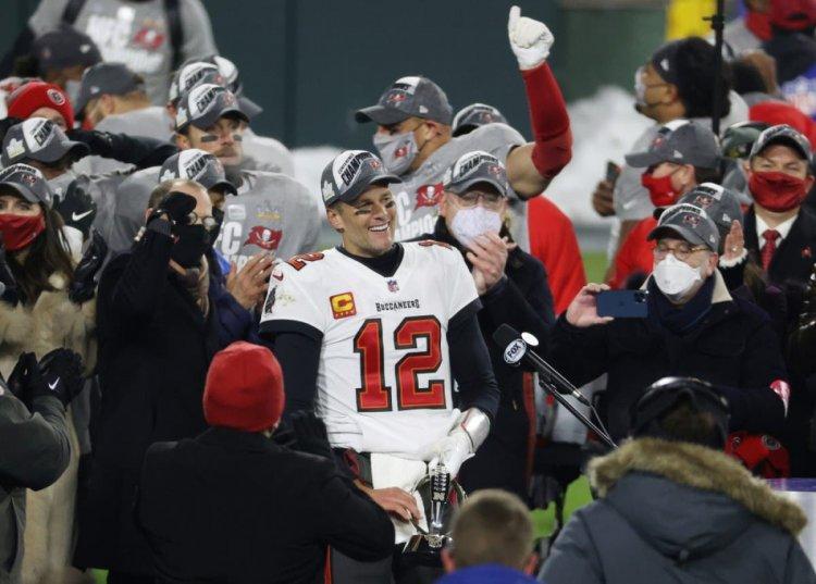 Tom Brady lleva a Buccaneers al Super Bowl