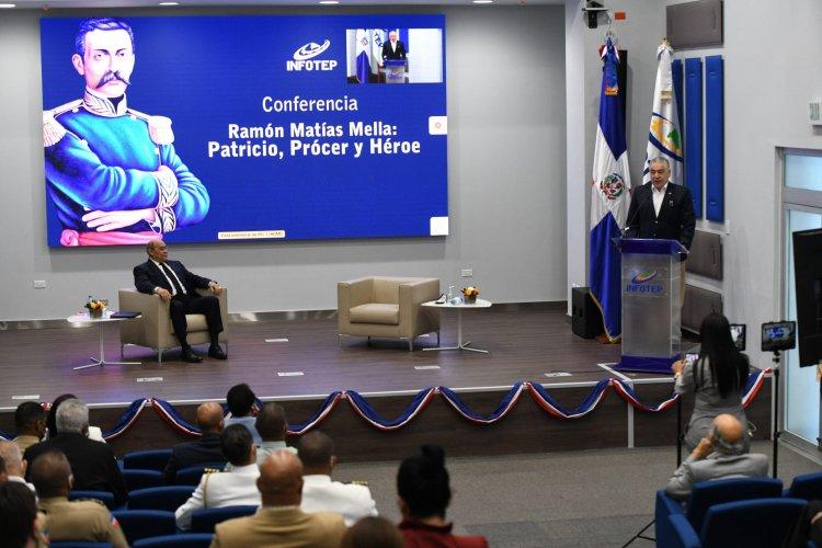 """INFOTEP y el Instituto Duartiano ofrecen conferencia """"Ramón Matías Mella: Patricio, Prócer y Héroe"""""""