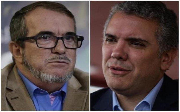 Duque se reunió con Londoño para repasar el estado de la paz con las FARC