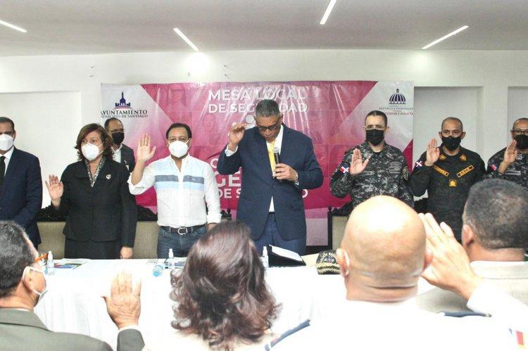 Ayuntamiento de Santiago y MIP relanzan Mesa Local de Seguridad, Ciudadanía y Género