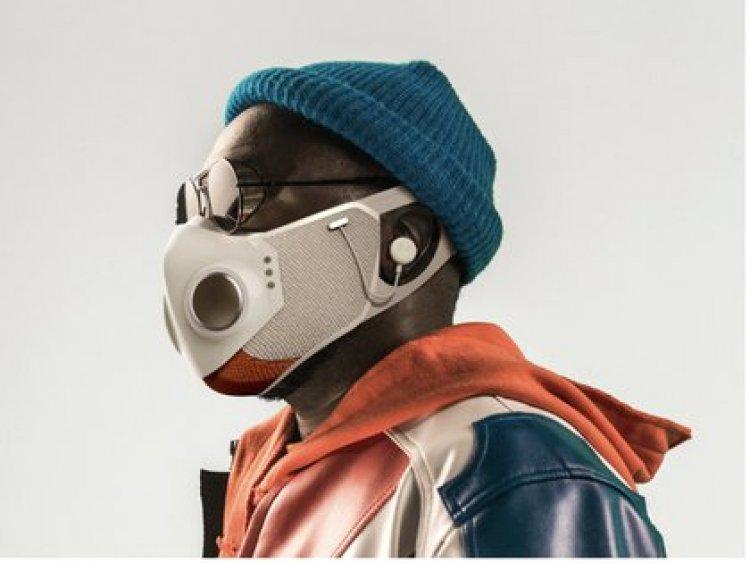 Cómo es Xupermask, la mascarilla inteligente diseñada por el músico will.i.am