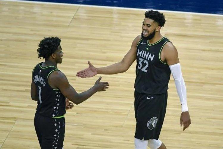 NBA: Karl Towns anota 24, ayuda a Timberwolves a vencer al Heat