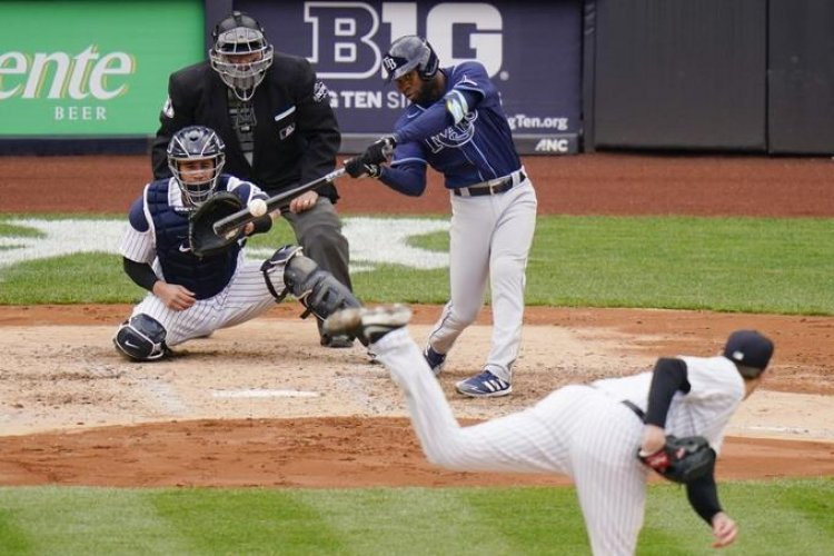 Cuadrangular de Manuel Margot da triunfo a los Rays sobre los Yankees
