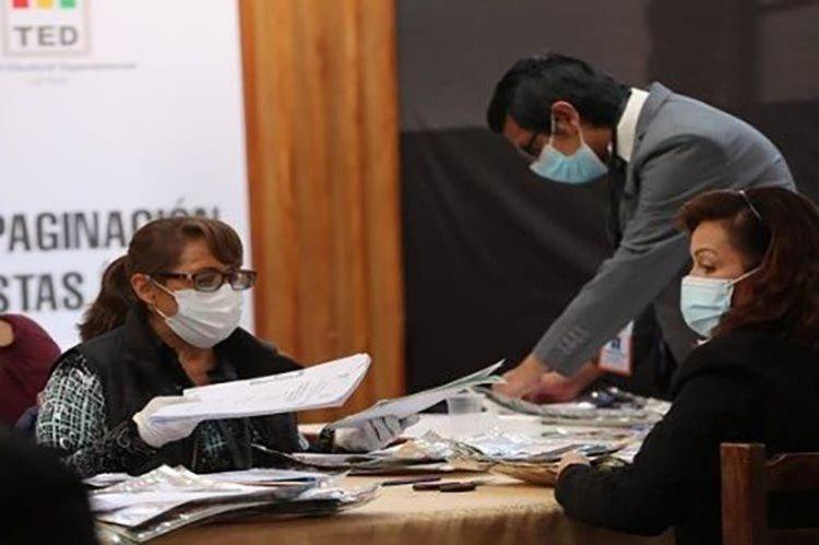 El cierre del cómputo electoral en La Paz se prolonga por 4 mesas anuladas