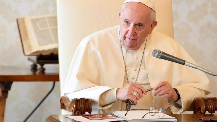 """El papa: """"La especulación financiera debe estar estrictamente regulada"""""""