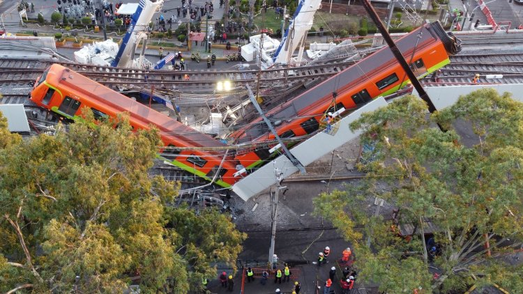 Sube a 24 la cifra de muertos por el derrumbe del metro de Ciudad de México