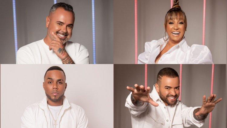 """Coaches de """"The Voice Dominicana"""" definirán sus equipos"""
