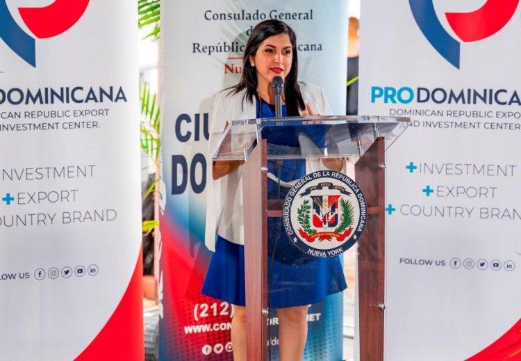 ProDominicana promueve exportaciones de bienes en New York