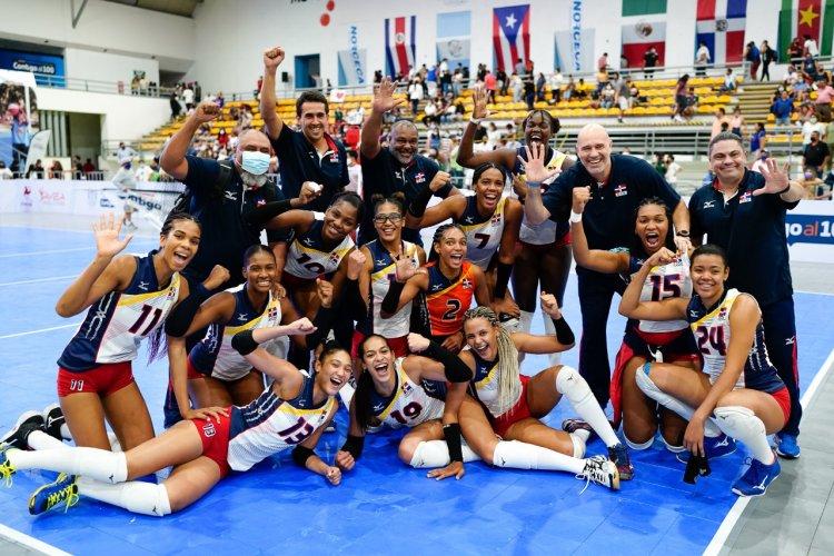 República Dominicana gana quinta corona al hilo Panamericano Voleibol