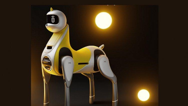 Presentan un robot-unicornio para niños con fines de transporte