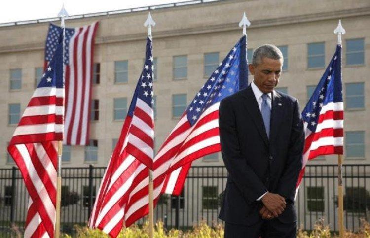 Barack Obama rinde homenaje a los héroes anónimosdel 11-S