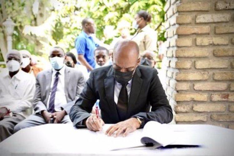 Primer ministro haitiano convence  a plataformas de firmar acuerdo