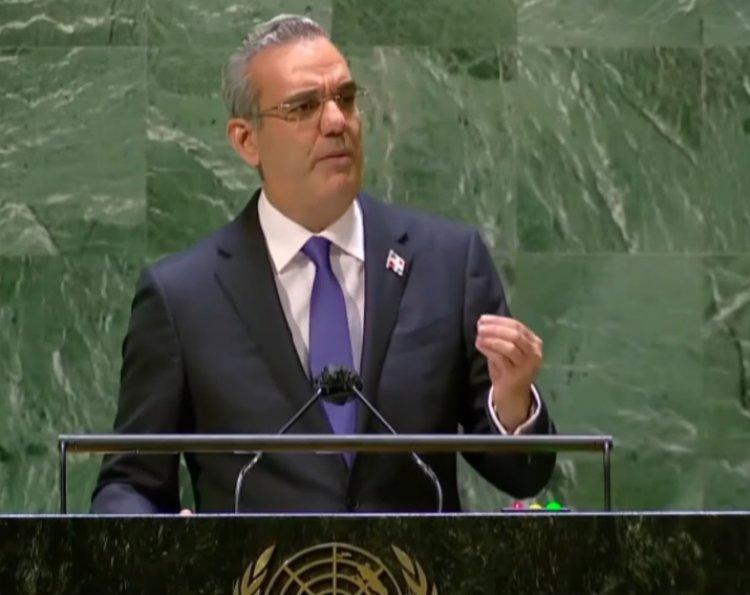 """Abinader resalta avances de vacunación en RD ante la ONU; dice """"estaremos seguros cuando estemos vacunados"""""""