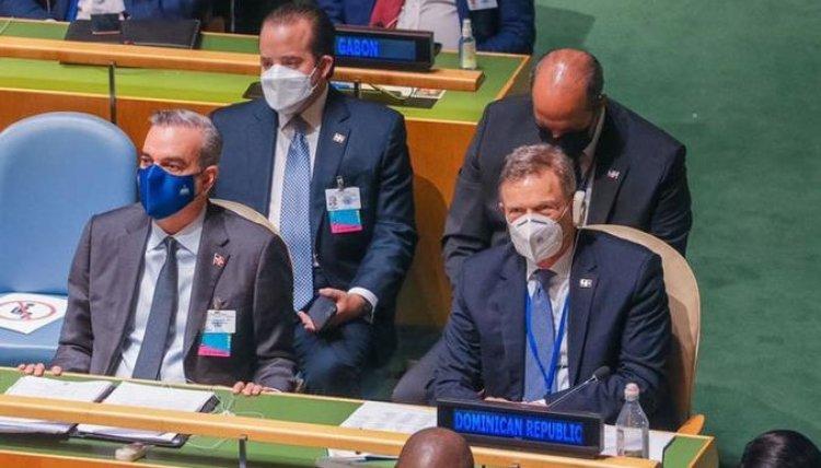 Discurso de Abinader ante la Asamblea General de la ONU