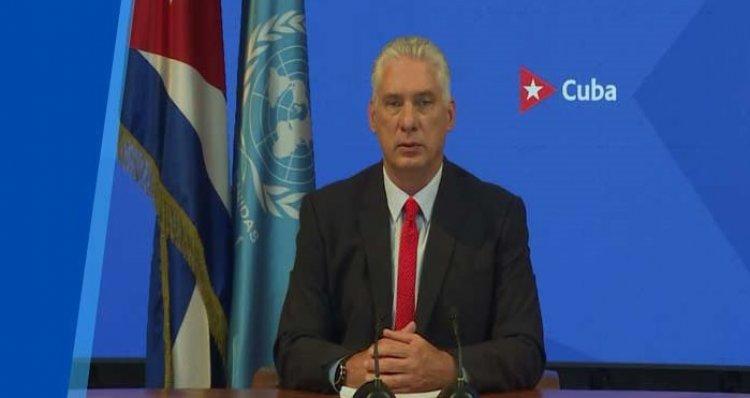 CUBA: Díaz-Canel acusa a Biden de recrudecer bloqueo a la isla