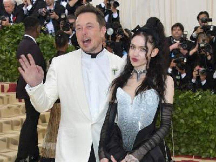 El empresario Elon Musk se separa de la cantante Grimes