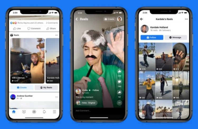 Facebook ahora tendrá los reels de Instagram en su app principal